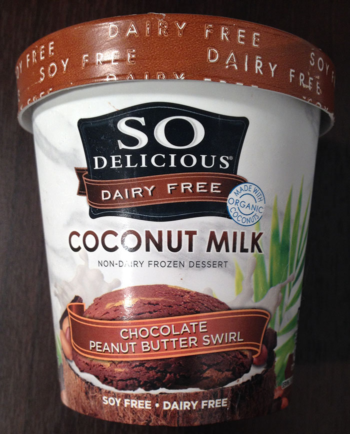 So Delicious Coconut Milk Chocolate Peanut Butter Swirl Non-Dairy Frozen Dessert