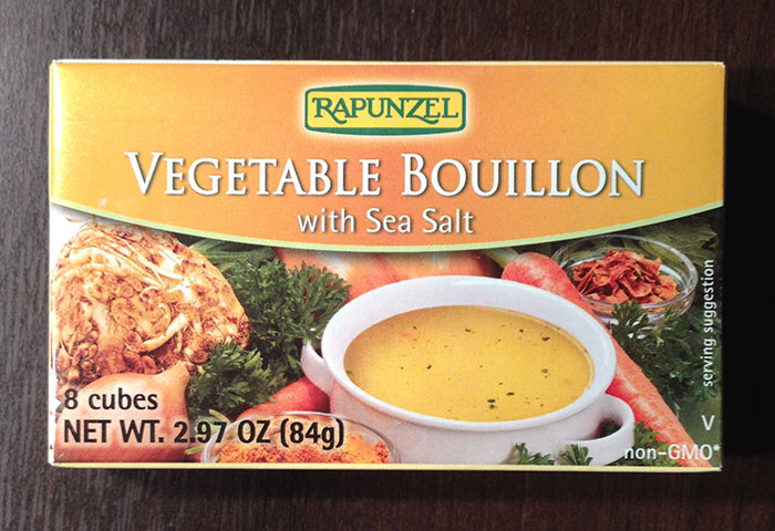 Rapunzel Vegetable Bouillon with Sea Salt
