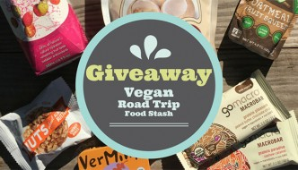 Vegan Road Trip Food Stash Giveaway