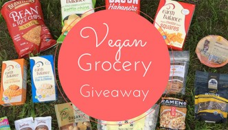 Epic Vegan Snack and Grocery Giveaway