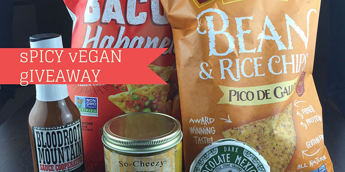 Spicy Vegan Snack Giveaway-featured