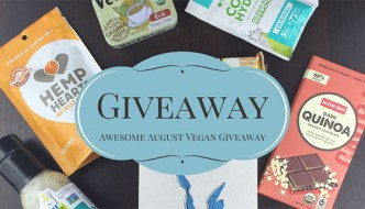 Awesome August Vegan Giveaway